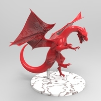 Small dragon attack 3D Printing 131494