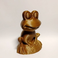 Small Garden Frog (re-sculpt of a scan) 3D Printing 131515