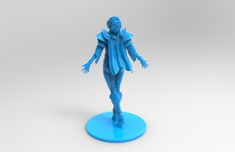 lady warrior 3D Print 131522