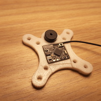 Small  Furious FPV-0121-S FRSKY Adapter Receiver  + Buzzer 9mm 3D Printing 131580