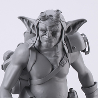 Small Mechzark, the goblin 3D Printing 131681