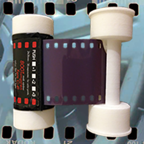 35mm Film to 120 Spool Adapter 3D Print 13170