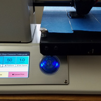 Small Monoprice MP Select Mini 3D printer Upgrade - knob 3D Printing 131700