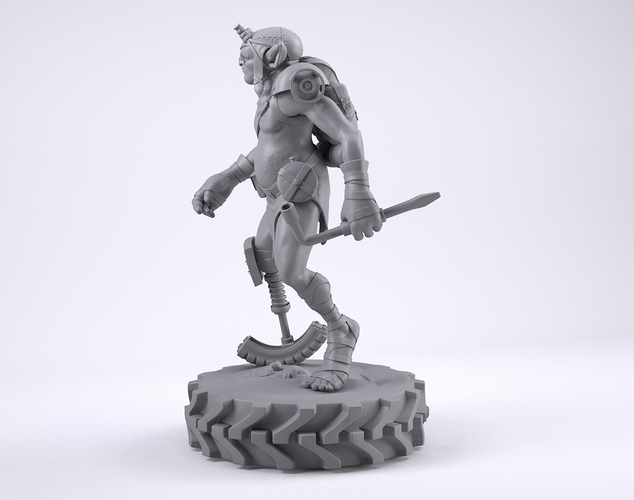Mechzark, the goblin 3D Print 131750