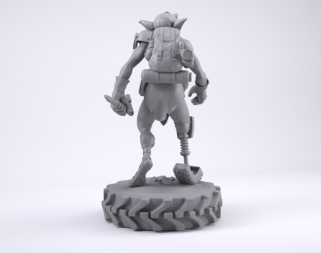 Mechzark, the goblin 3D Print 131751