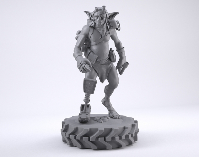 Mechzark, the goblin 3D Print 131753