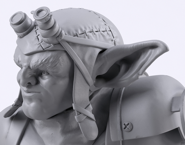 Mechzark, the goblin 3D Print 131754