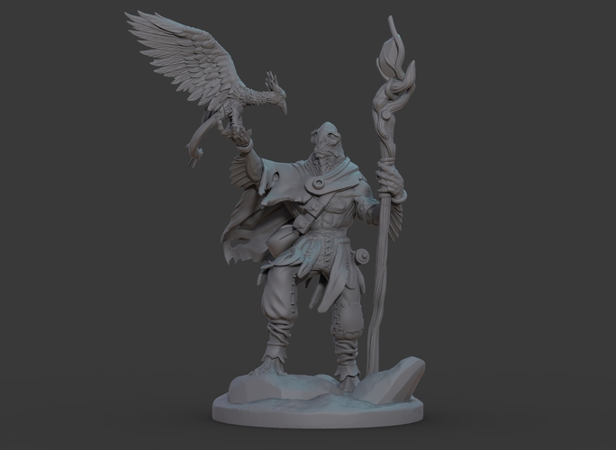 Ran'ril The Druid 3D Print 131780