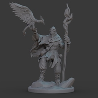 Small Ran'ril The Druid 3D Printing 131780