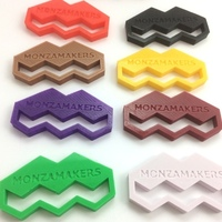 Small MonzaMakers Keychain 3D Printing 131791