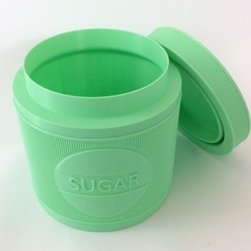 JARGIANA: Sugar | Sugar Jar - Sugar Pot - Sugar Can 3D Print 131810
