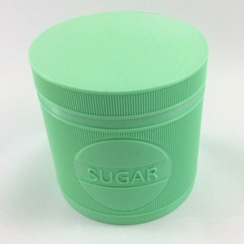 JARGIANA: Sugar | Sugar Jar - Sugar Pot - Sugar Can 3D Print 131811