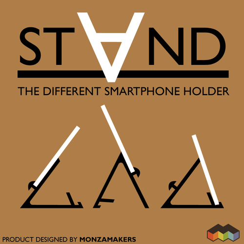 STAND: the different smartphone holder 3D Print 131812