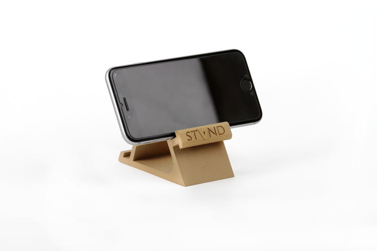 STAND: the different smartphone holder 3D Print 131828