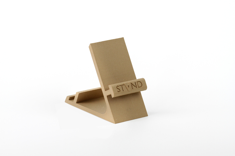STAND: the different smartphone holder 3D Print 131829