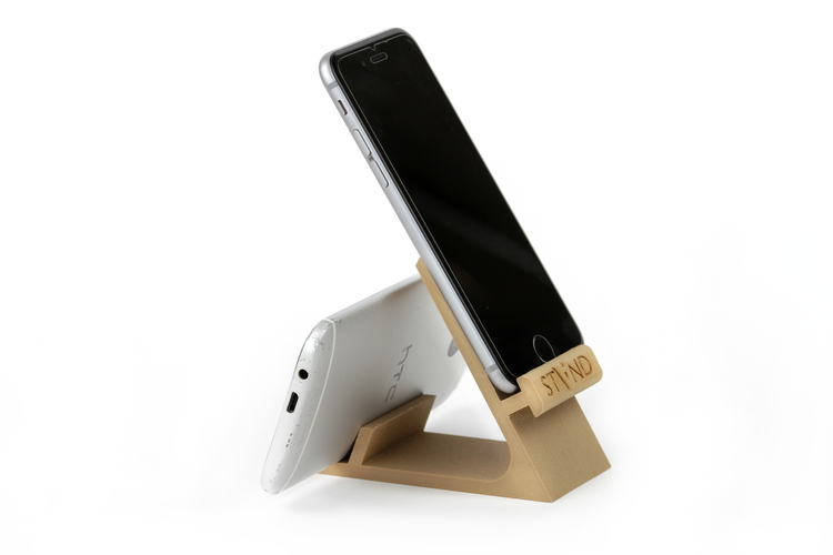 STAND: the different smartphone holder 3D Print 131832