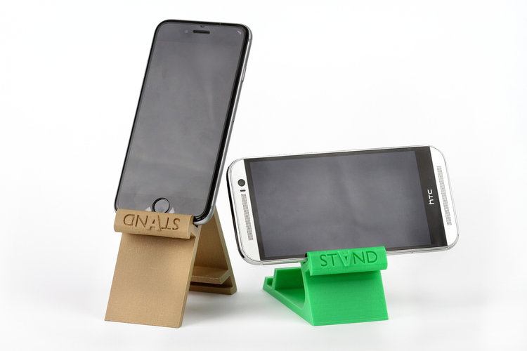 STAND: the different smartphone holder 3D Print 131833