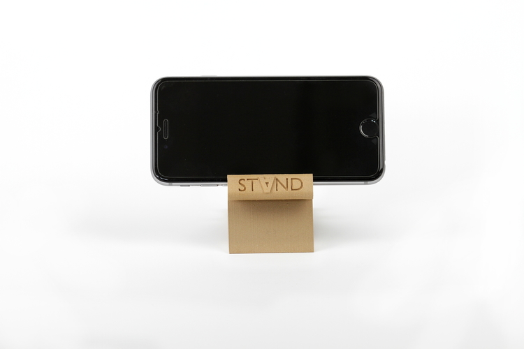 STAND: the different smartphone holder 3D Print 131836