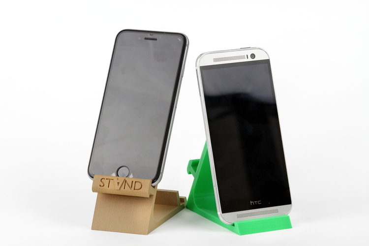 STAND: the different smartphone holder 3D Print 131837