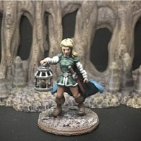 Small Wenda, Novice Adventurer (28mm/Heroic scale) 3D Printing 131881