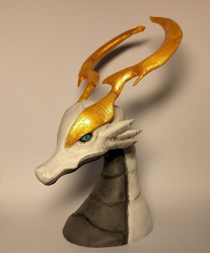 World of Final Fantasy - Dragon Bust 3D Print 131967