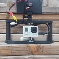 Small GoPro Handle V2 3D Printing 132007