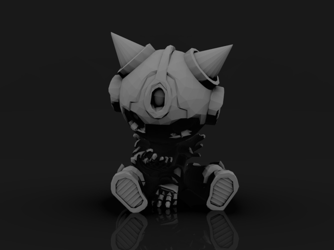 KrikSix_low poly 3D Print 132063
