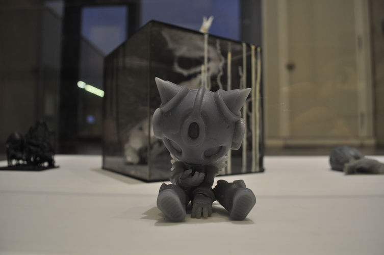 KrikSix_low poly 3D Print 132065