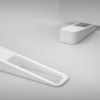 Small Designer Door wedge 3D Printing 132076
