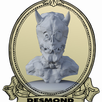 Small Desmond the Demon 3D Printing 132106
