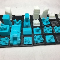 Small Wild Spaces Base Builder Game- PGRC forces (Beta 0.1) 3D Printing 132238