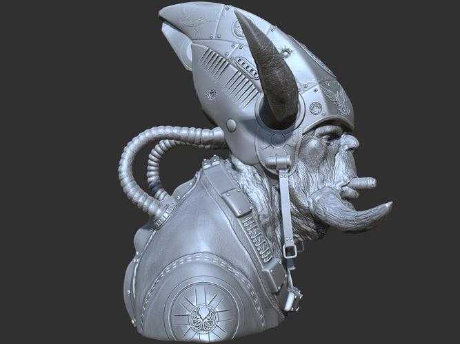Alien space marine  3D Print 132263