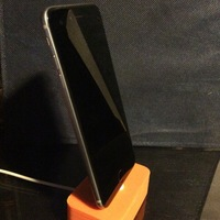 Small Iphone Charging Dock  3D Printing 132353