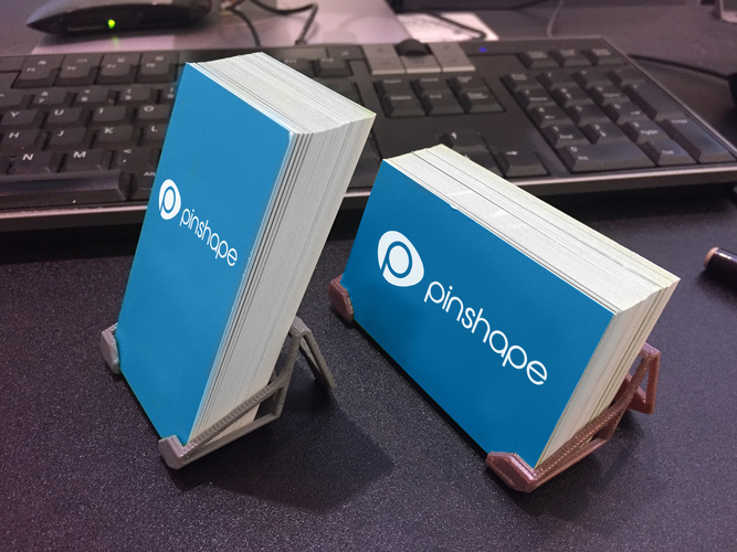 3d printed business card holders by doodlemonkey pinshape business card holders 3d print 132376 colourmoves