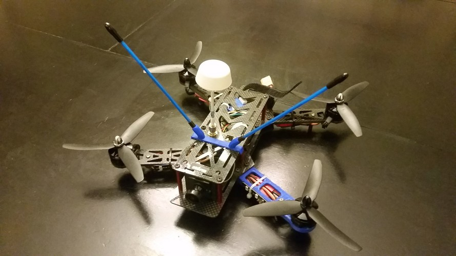 Storm Racing Drone antenna mounting system