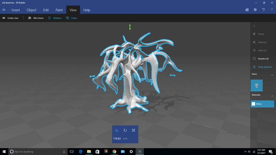 The Old Dead Tree 3D Print 132627