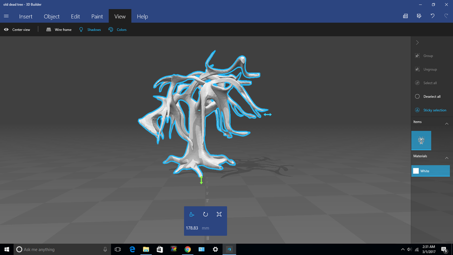 The Old Dead Tree 3D Print 132628