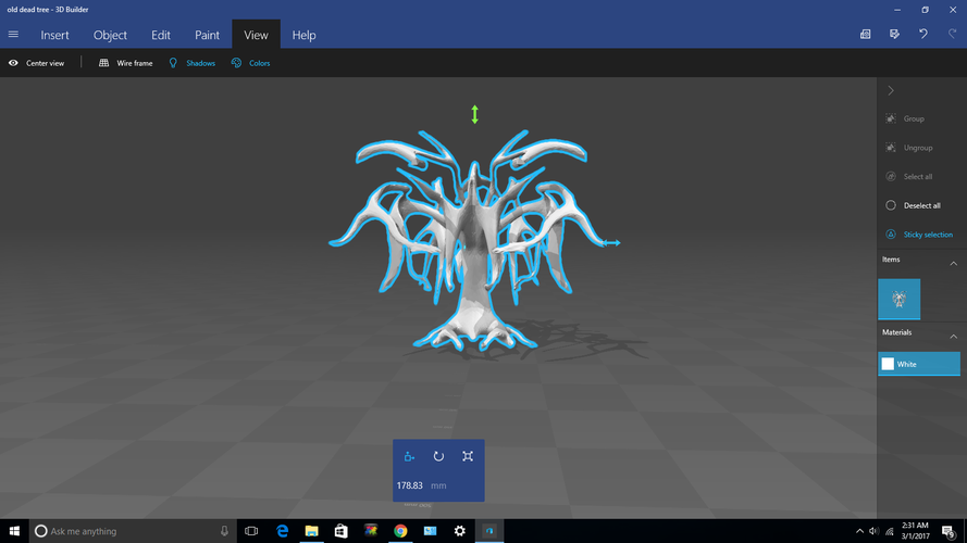 The Old Dead Tree 3D Print 132629