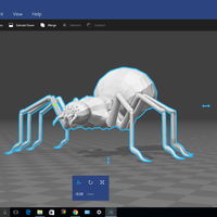 Small Massive Spider 3D Printing 132672