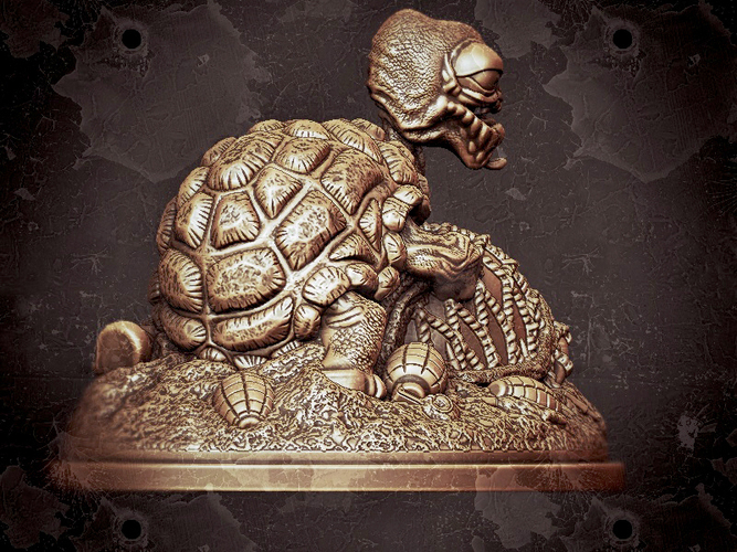 Tortoise - Make Love Not War  3D Print 132798