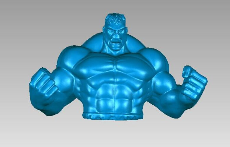 Hulk Piggy Bank 3D Print 13285