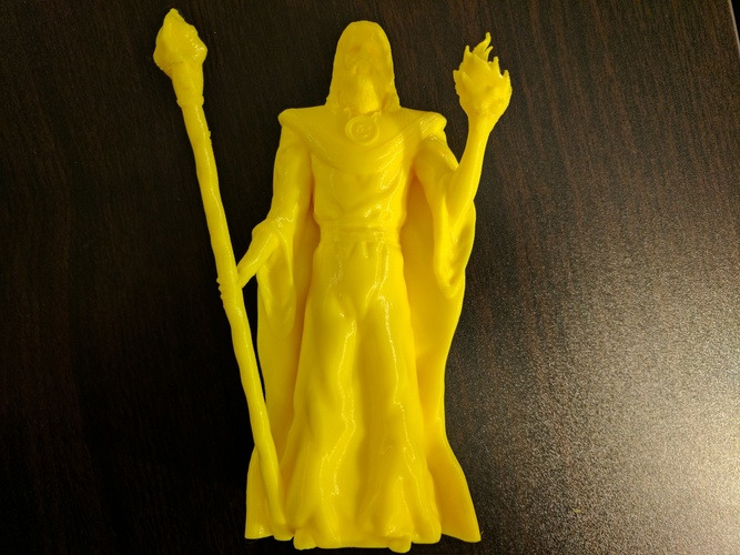 Lord Kavra - Prints With No Supports! - Original Mage Character 3D Print 132897