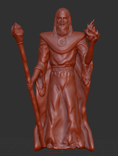 Lord Kavra - Prints With No Supports! - Original Mage Character 3D Print 132904