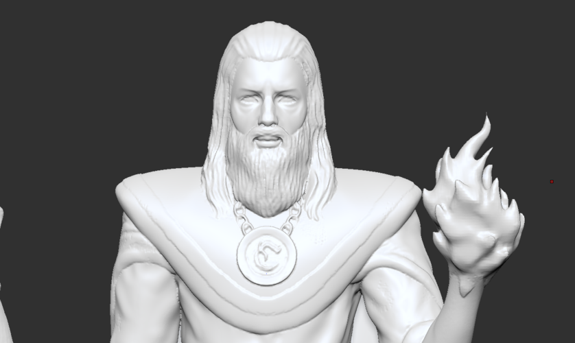 Lord Kavra - Prints With No Supports! - Original Mage Character 3D Print 132905