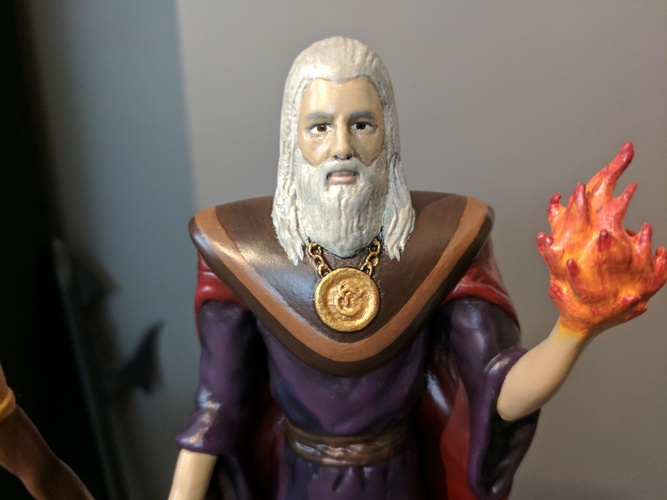 Lord Kavra - Prints With No Supports! - Original Mage Character 3D Print 132906
