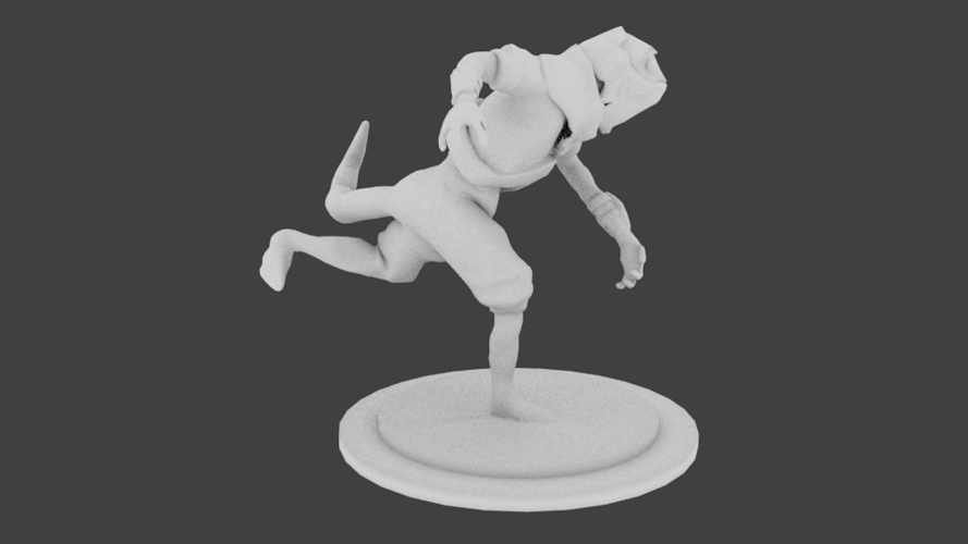 Lizard Rouge Runner 3D Print 132934