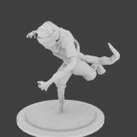 Small Lizard Rouge Runner 3D Printing 132935