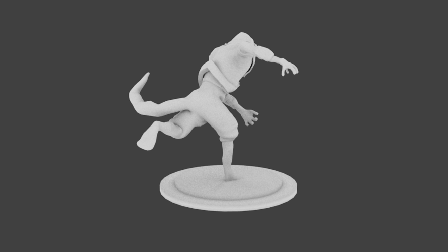 Lizard Rouge Runner 3D Print 132936