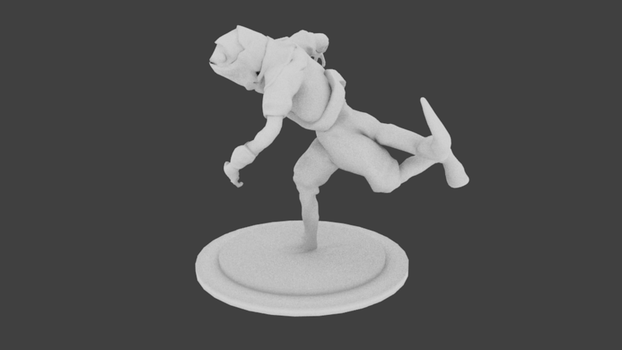 Lizard Rouge Runner 3D Print 132937