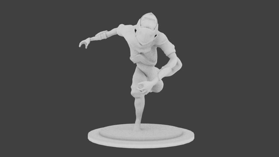Lizard Rouge Runner 3D Print 132938